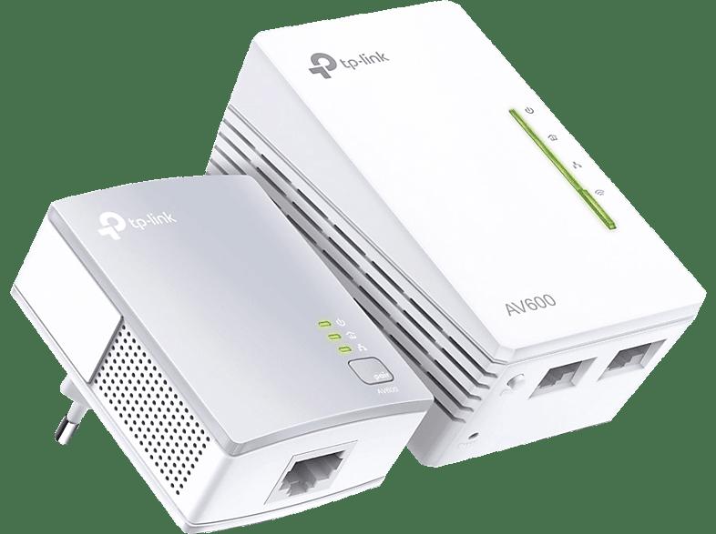 Powerline Adapter TP-LINK Powerline Adapter TL-WPA 4220 KIT AV600 WLAN