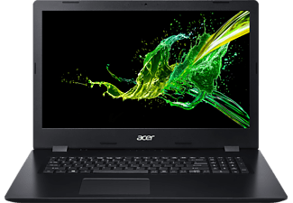 "ACER Aspire 3 A317-51-54EA - Notebook (17.3 "", 512 GB SSD + 2 TB HDD, Nero)"