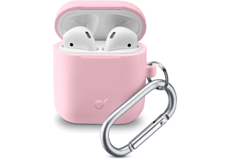 CELLULARLINE Oplaadcase cover Silicone voor AirPods 1 / 2 Roze (8018080355790)