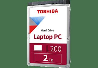 TOSHIBA L200 Festplatte, 2 TB HDD SATA 6 Gbps, 2,5 Zoll, intern