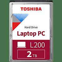 TOSHIBA L200, 2 TB HDD, 2.5 Zoll, intern