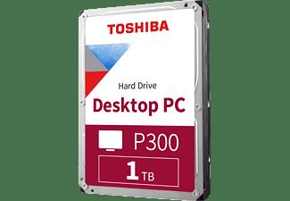 TOSHIBA P300 Festplatte, 1 TB HDD SATA 6 Gbps, 3,5 Zoll, intern
