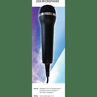 DEEP SILVER Mikrofon für Karaoke Games, USB  Mikrofon, Schwarz