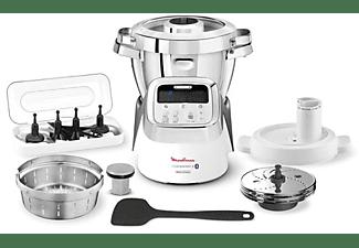 Robot de cocina - Moulinex HF906 i-Companion XL, 1550W, 16000 rpm, 13 vel., 4 funciones, 4.5 L, Bluetooth