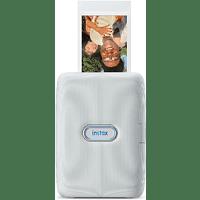 Impresora fotográfica - Fujifilm Instax Mini Link, Móvil, Bluetooth, 318 dpi, 62x46 mm, Blanco