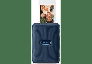 Impresora fotográfica - Fujifilm Instax Mini Link, Móvil, Bluetooth, 318 dpi, 62x46 mm, Azul