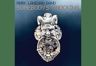 Mark Band Lanegan - Somebody's Knocking (Ltd.Ed.) (2LP+MP3,Blue)  - (LP + Download)
