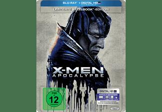 X Men Apocalypse - Steelbook Edition (Jennifer Lawrence, Sophie Turner) [Blu-ray]