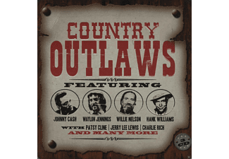 VARIOUS - Country Outlaws (Limited Metalbox Edition)  - (CD)