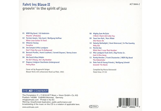 VARIOUS - Fahrt Ins Blaue II-Groovin' In The Spirit Of Jazz  - (CD)