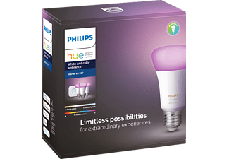 PHILIPS Hue White & Col. Amb. E27 Starter Set