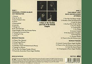 The Kinks - ARTHUR OR THE.. -REMAST-  - (CD)