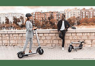 Patinete eléctrico - Cecotec Bongo Serie A Connected, 25km/h, 700W, Autonomía 25km, Plegable, Bluetooth, Plata