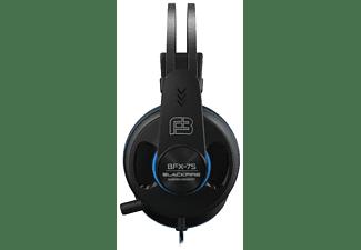 Auriculares gaming - Ardistel Blackfire Gaming Headset BFX-75,Cable 1.1 m, Micrófono,Para PS4, PS5,Negro/Azul