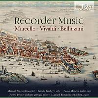 VARIOUS - Recorder Music:Marcello,Vivaldi,Bellinzani [CD]