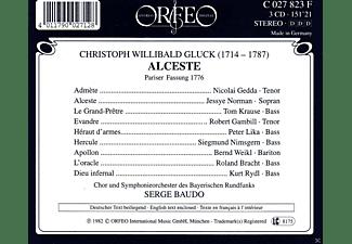 Christoph Willibaldglück, VARIOUS - Alceste (Ga) Pariser Fassung Französisch  - (CD)