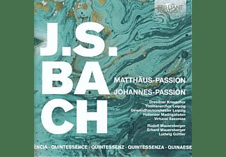 VARIOUS - Bach,J.S.:Matthäus-Passion,Johannes Passion  - (CD)