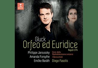 Philippe Jaroussky, Emöke Baráth, Amanda Forsythe, Coro Della Radiotelevisione Svizzera, I Barocchisti - Orfeo ed Euridice  - (CD)