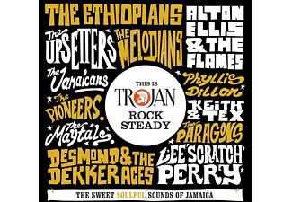 VARIOUS - This Is Trojan Rock Steady  - (CD)