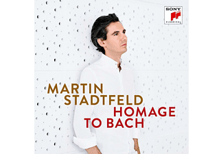 Martin Stadtfeld - Homage to Bach  - (CD)
