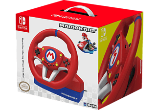 HORI Mario Kart Racing Wheel Lenkrad Pro MINI, Lenkrad und Pedale, Rot