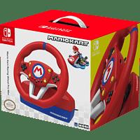 HORI Mario Kart Racing Wheel Lenkrad Pro MINI , Lenkrad und Pedale, Rot