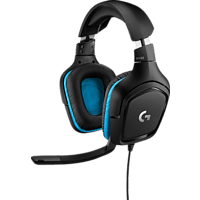 LOGITECH G432  Gaming Headset Schwarz