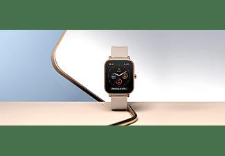 AMAZFIT A1914 GTS Smartwatch Aluminium + Kunststoff Silikon, 120 mm + 87 mm, Desert Gold