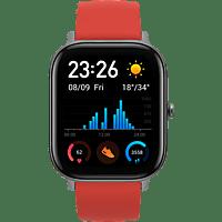 AMAZFIT A1914 GTS Smartwatch Aluminium + Kunststoff Silikon, 120 mm + 87 mm, Vermillion Orange