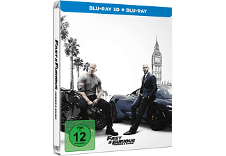 Fast & Furious: Hobbs & Shaw (Exklusives SteelBook®) 3D Blu-ray (+2D)