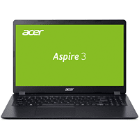 ACER Aspire 3 (A315-54K-33QM), Notebook mit 15.6 Zoll Display, Core™ i3 Prozessor, 8 GB RAM, 512 GB SSD, Intel® HD Grafik 620, Schwarz