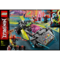 LEGO Ninja-Tuning-Fahrzeug Spielset, Mehrfarbig