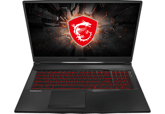 MSI GL75 9SE-236, Gaming Notebook mit 17,3 Zoll Display, Core™ i7 Prozessor, 16 GB RAM, 512 GB SSD, GeForce RTX™ 2060, Schwarz
