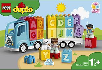 LEGO 10915 Mein erster ABC-Lastwagen Bausatz, Mehrfarbig