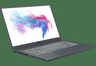 MSI Prestige 15 A10SC-014, Notebook mit 15,6 Zoll Display, Core™ i7 Prozessor, 32 GB RAM, 1 TB SSD, GeForce® GTX 1650, Carbon Grau