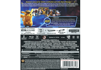 Pokémon Meisterdetektiv Pikachu 4K Ultra HD Blu-ray + Blu-ray