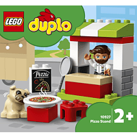 LEGO Pizza-Stand Spielset, Mehrfarbig