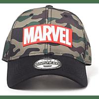 DIFUZED Marvel - Camouflage Logo Cap, Grün/Camouflage