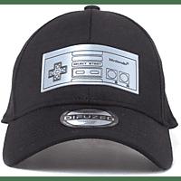 DIFUZED Nintendo - NES Curved Bill Cap Cap, Schwarz
