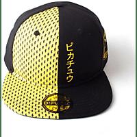 DIFUZED Pokemon Snapback BL Cap, Schwarz/Gelb