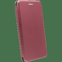 AGM 29184 , Bookcover, Samsung, Galaxy A40, Obermaterial Kunstleder, Stoff, Thermoplastisches Polyurethan, Burgund