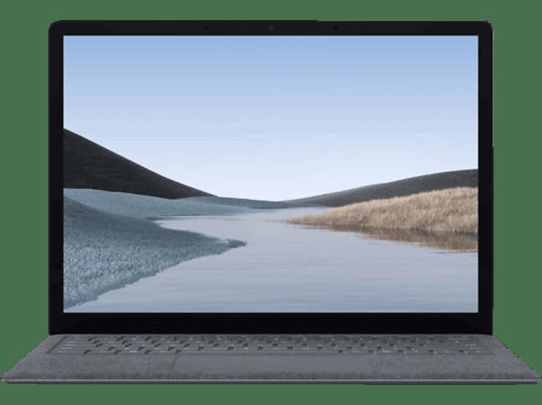 MICROSOFT - B2B Surface Laptop 3, Notebook mit 13.5 Zoll Display, Core™ i5 Prozessor, 8 GB RAM, 128 GB SSD, Intel® Iris™ Plus Grafik, Platin Grau