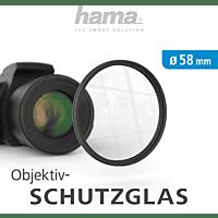 HAMA 58 mm Objektiv Schutzglas 58 mm