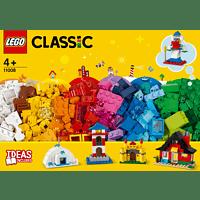 LEGO LEGO Bausteine - bunte Häuser Bauset, Mehrfarbig