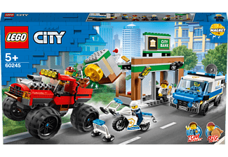 LEGO 60245 Raubüberfall mit dem Monster-Truck Bausatz, Mehrfarbig