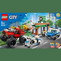 LEGO Raubüberfall mit dem Monster-Truck Bausatz