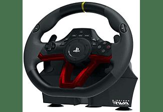Volante + Pedales - Hori Wireless RWA (Racing Wheel Apex), Para PS5, PS4 y PC, Inalámbrico, Bluetooth, Negro