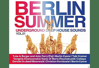 VARIOUS - Berlin Summer Vol.1-Best Of Deep Sound  - (CD)