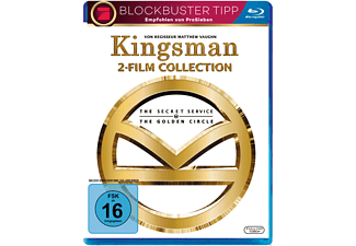 Kingsman 1+2 Blu-ray