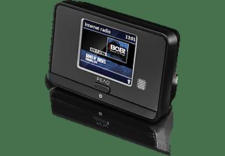 PEAQ PDR10BT-B Digitalradio, DAB+, FM, Internet Radio, Bluetooth, Schwarz